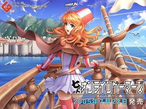 Rating: Safe Score: 11 Tags: animal bird boat cape hat monnbrun panties sano_toshihide shichinin_no_online_gamers skirt thighhighs underwear water User: Oyashiro-sama