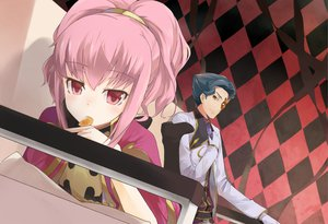 Rating: Safe Score: 70 Tags: anya_alstreim cccpo code_geass jeremiah_gottwald pink_hair User: opai
