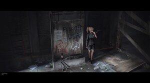 Rating: Safe Score: 51 Tags: blonde_hair graffiti hoodie original shorts smoking yurichtofen User: boomshadow