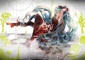 Rating: Safe Score: 48 Tags: 7th_dragon_2020 hatsune_miku long_hair tagme_(artist) twintails vocaloid User: luckyluna