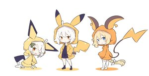 Rating: Safe Score: 51 Tags: aqua_eyes beni_shake blush bow braids chibi cosplay dress fate/grand_order fate_(series) hoodie jeanne_d'arc_alter jeanne_d'arc_(fate) long_hair orange_eyes pokemon ponytail short_hair thighhighs waifu2x white white_hair User: otaku_emmy