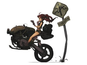 Rating: Safe Score: 111 Tags: brown_hair food gloves motorcycle rias-coast User: BoobMaster