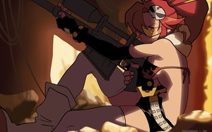 Rating: Safe Score: 47 Tags: gun tengen_toppa_gurren_lagann vector weapon yoko_littner User: Oyashiro-sama