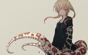 Rating: Safe Score: 53 Tags: blonde_hair dress long_hair original tagme_(artist) tattoo tentacles yellow_eyes User: otaku_emmy