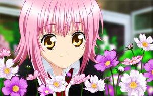 Rating: Safe Score: 43 Tags: close hinamori_amu peach-pit pink_hair shugo_chara vector yellow_eyes User: anaraquelk2
