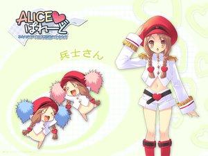 Rating: Safe Score: 19 Tags: alice_parade boots chibi hat heitaisan_rouge13 itou_noiji nopan uniform unisonshift User: Oyashiro-sama