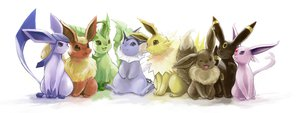 Rating: Safe Score: 171 Tags: eevee espeon flareon glaceon jolteon leafeon nejita pokemon umbreon vaporeon User: FormX