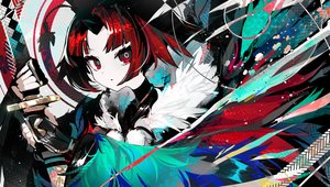 Rating: Safe Score: 59 Tags: benienma fate/grand_order fate_(series) katana kusakanmuri polychromatic red_eyes red_hair short_hair sword weapon User: Fepple
