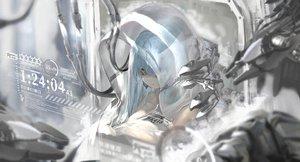 Rating: Safe Score: 61 Tags: aizawa_masaya anthropomorphism girls_frontline green_eyes hk416_(girls_frontline) long_hair techgirl white_hair User: BattlequeenYume