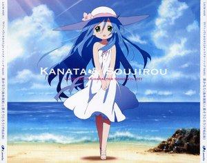 Rating: Safe Score: 14 Tags: beach hat izumi_kanata lucky_star User: Oyashiro-sama
