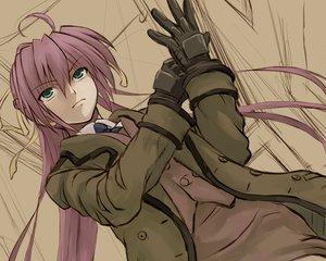 Rating: Safe Score: 54 Tags: gloves green_eyes long_hair mahou_shoujo_lyrical_nanoha mahou_shoujo_lyrical_nanoha_strikers nakayama_yukiji pink_hair signum sketch tie User: Oyashiro-sama
