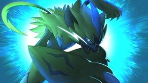 Rating: Safe Score: 10 Tags: close higa-tsubasa nobody pokemon polychromatic zeraora User: otaku_emmy