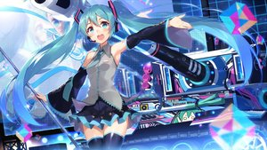 Rating: Safe Score: 52 Tags: hatsune_miku jpeg_artifacts suika01 vocaloid User: mattiasc02