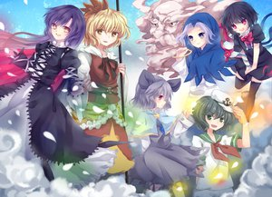 Rating: Safe Score: 26 Tags: group hijiri_byakuren houjuu_nue kumoi_ichirin mousegirl murasa_minamitsu nazrin nonaka toramaru_shou touhou unzan User: HawthorneKitty