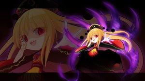 Rating: Safe Score: 13 Tags: blonde_hair dress flat_chest junko loli long_hair magic red_eyes touhou z.o.b zoom_layer User: RyuZU