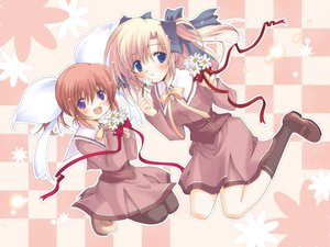 Rating: Safe Score: 6 Tags: canvas2_niji_iro_no_sketch hagino_kana housen_elis User: Oyashiro-sama