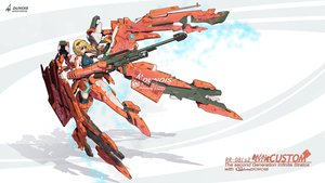 Rating: Safe Score: 104 Tags: charlotte_dunois gun infinite_stratos mecha nenchi weapon User: FormX