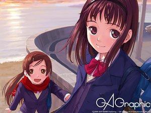 Rating: Safe Score: 14 Tags: gagraphic logo naruko_hanaharu watermark User: Oyashiro-sama