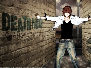 Rating: Safe Score: 26 Tags: all_male brown_hair death_note male yagami_light User: Oyashiro-sama