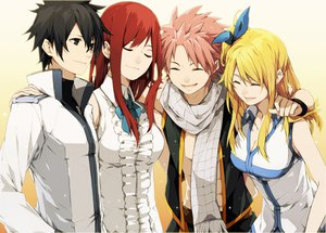 Rating: Safe Score: 118 Tags: black_hair blonde_hair erza_scarlet fairy_tail gray_fullbuster group long_hair lucy_heartfilia natsu_dragneel red_hair white User: TomomiSuzune