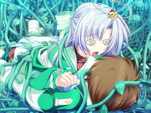 Rating: Safe Score: 9 Tags: alicia_infans bow game_cg long_hair magus_tale purple_hair school_uniform tenmaso whirlpool User: Oyashiro-sama