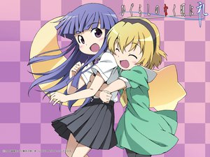 Rating: Safe Score: 12 Tags: 2girls furude_rika higurashi_no_naku_koro_ni houjou_satoko User: Xtea