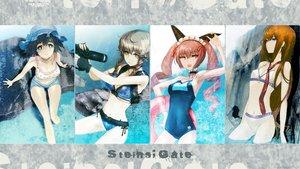 Rating: Safe Score: 116 Tags: amane_suzuha bikini faris_nyannyan makise_kurisu school_swimsuit shiina_mayuri steins;gate swimsuit User: dgnfly