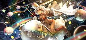 Rating: Safe Score: 38 Tags: animal attila_(fate/grand_order) breasts christmas dark_skin earmuffs fate/grand_order fate_(series) gray_hair kito_(kito2) long_hair rainbow red_eyes sheep signed tattoo User: RyuZU