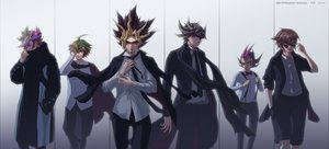 Rating: Safe Score: 19 Tags: all_male glasses goggles male mutou_yuugi narcissus111 suit tagme_(character) tie yu-gi-oh User: FormX