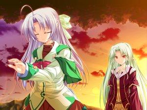 Rating: Safe Score: 8 Tags: alicia_infans bow game_cg long_hair magus_tale purple_hair school_uniform tenmaso whirlpool User: Oyashiro-sama