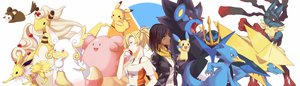 Rating: Safe Score: 71 Tags: ampharos aqua_eyes audino ball black_hair blissey blonde_hair brown_eyes crossover dualscreen emolga empoleon golduck jolteon lucario manectric mega_ampharos mega_audino mega_lucario mega_manectric mercy_(overwatch) minun nyasa overwatch pharah_(overwatch) pikachu pokemon short_hair tattoo waifu2x User: otaku_emmy