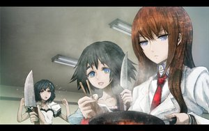 Rating: Safe Score: 54 Tags: huke jpeg_artifacts knife makise_kurisu shiina_mayuri steins;gate urushibara_ruka User: rlyeh
