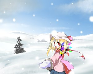 Rating: Safe Score: 21 Tags: flandre_scarlet snow touhou vampire winter User: Oyashiro-sama