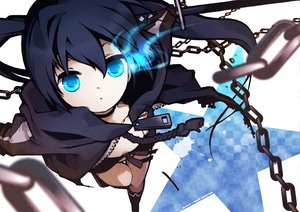 Rating: Safe Score: 80 Tags: black_rock_shooter chain katana kuroi_mato sword weapon User: Tensa