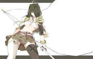 Rating: Safe Score: 75 Tags: cross nanao original thighhighs underboob User: FormX