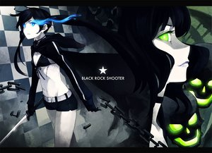 Rating: Safe Score: 55 Tags: black_rock_shooter katana kuroi_mato sword takanashi_yomi weapon User: HawthorneKitty