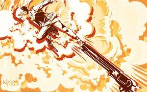 Rating: Safe Score: 6 Tags: gun kino kino_no_tabi polychromatic short_hair weapon User: Oyashiro-sama