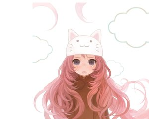 Rating: Safe Score: 141 Tags: blue_eyes blush cat_smile crying hat long_hair megurine_luka pink_hair toeto vocaloid User: 秀悟