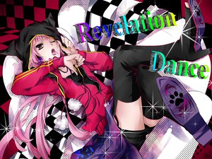 Rating: Safe Score: 60 Tags: boots long_hair nekomura_iroha pink_hair shorts tyouya vocaloid User: MissBMoon