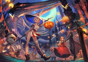 Rating: Safe Score: 97 Tags: animal aqua_eyes armor bandage black_hair bones boots breasts building butterfly cat chinese_clothes chinese_dress city demon dragon dress elbow_gloves fairy fish glasses gloves group halloween hat horns lack loli long_hair male mask moon night orange_hair original pink_hair pointed_ears pumpkin red_eyes short_hair skirt_lift skull sky spear thighhighs weapon white_hair witch witch_hat yellow_eyes User: RyuZU