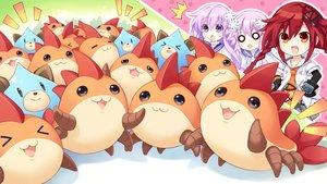 Rating: Safe Score: 52 Tags: cat_smile compile_heart dogoo game_cg hyperdimension_neptunia hyperdimension_neptunia_vii nepgear neptune tennouboshi_uzume tsunako User: mattiasc02