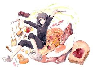 Rating: Safe Score: 32 Tags: food fruit miyanoyori original User: FormX