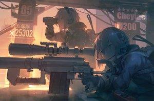 Rating: Safe Score: 32 Tags: aamond anthropomorphism girls_frontline gun m200_(girls_frontline) weapon User: Dreista