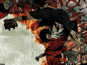 Rating: Safe Score: 6 Tags: all_male male mugen samurai_champloo User: Oyashiro-sama