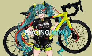 Rating: Safe Score: 34 Tags: aqua_eyes aqua_hair bicycle bike_shorts floatingapple gloves hatsune_miku shorts signed twintails vocaloid User: gnarf1975