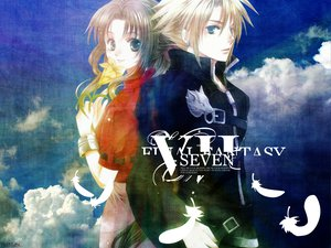 Rating: Safe Score: 30 Tags: aerith_gainsborough cloud_strife final_fantasy final_fantasy_vii User: Oyashiro-sama