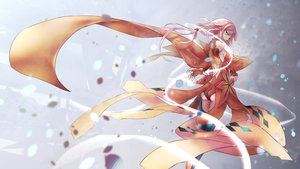 Rating: Safe Score: 22 Tags: ass elbow_gloves gloves guilty_crown long_hair pink_hair tanikku twintails yuzuriha_inori User: BattlequeenYume