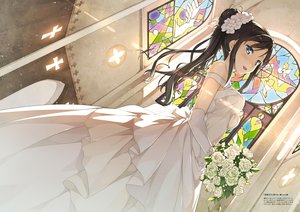 Rating: Safe Score: 95 Tags: dress hentai_ouji_to_warawanai_neko kantoku scan tagme_(character) wedding_attire User: BattlequeenYume