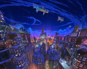 Rating: Safe Score: 59 Tags: 3d aircraft animal arsenixc building car cat city clouds night original planet sky stars train watermark User: Hakha