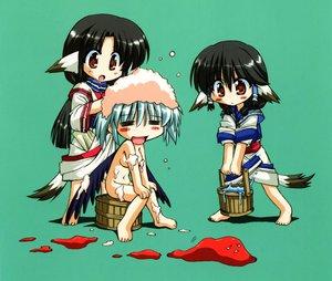 Rating: Safe Score: 13 Tags: aruruw bath chibi eruruw kamyu utawarerumono User: Oyashiro-sama